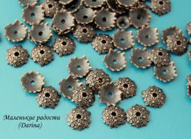 Шапочка, бронзовый, 10х3 мм 4