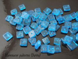 Бусина Апатит чипсы 5-6х1,5-2 мм