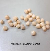 Бусина Коралл белый неправильная форма 12-5+- мм