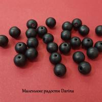 Бусина Шунгит гладкий шар 8 мм